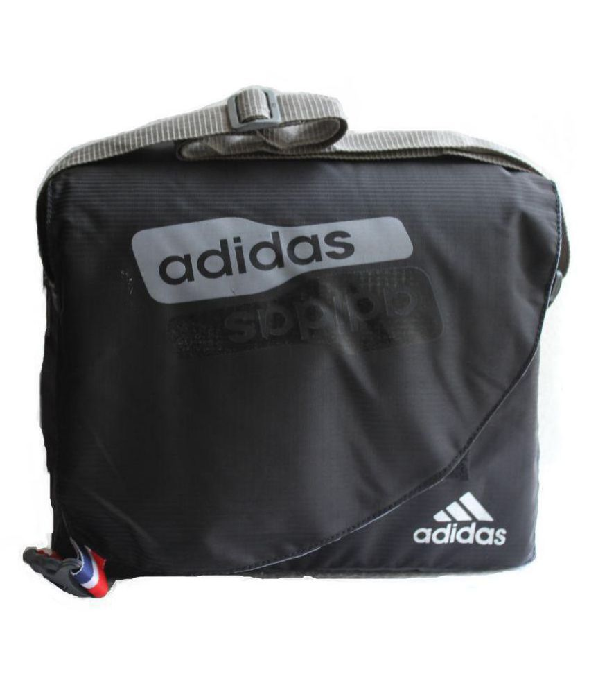 Adidas Favourite School   College   Tution   Office Black Polyester Casual  Messenger Bag Side Bag - Buy Adidas Favourite School   College   Tution    Office ... a24ad6b061bf0