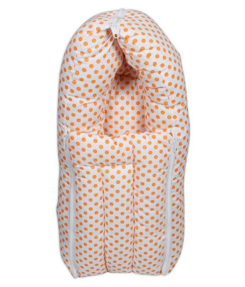 BAYBEE Orange Cotton Sleeping Bags ( 30 cm × 30 cm)