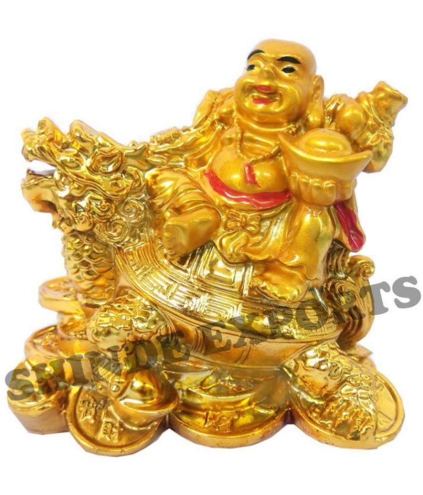Shinde patil exports Polyresin Laughing buddha