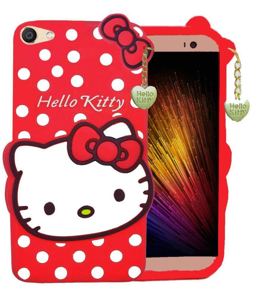 new styles 308e7 36a4d Oppo A71 Plain Cases ELEF - Red Hello Kitty Designer Case