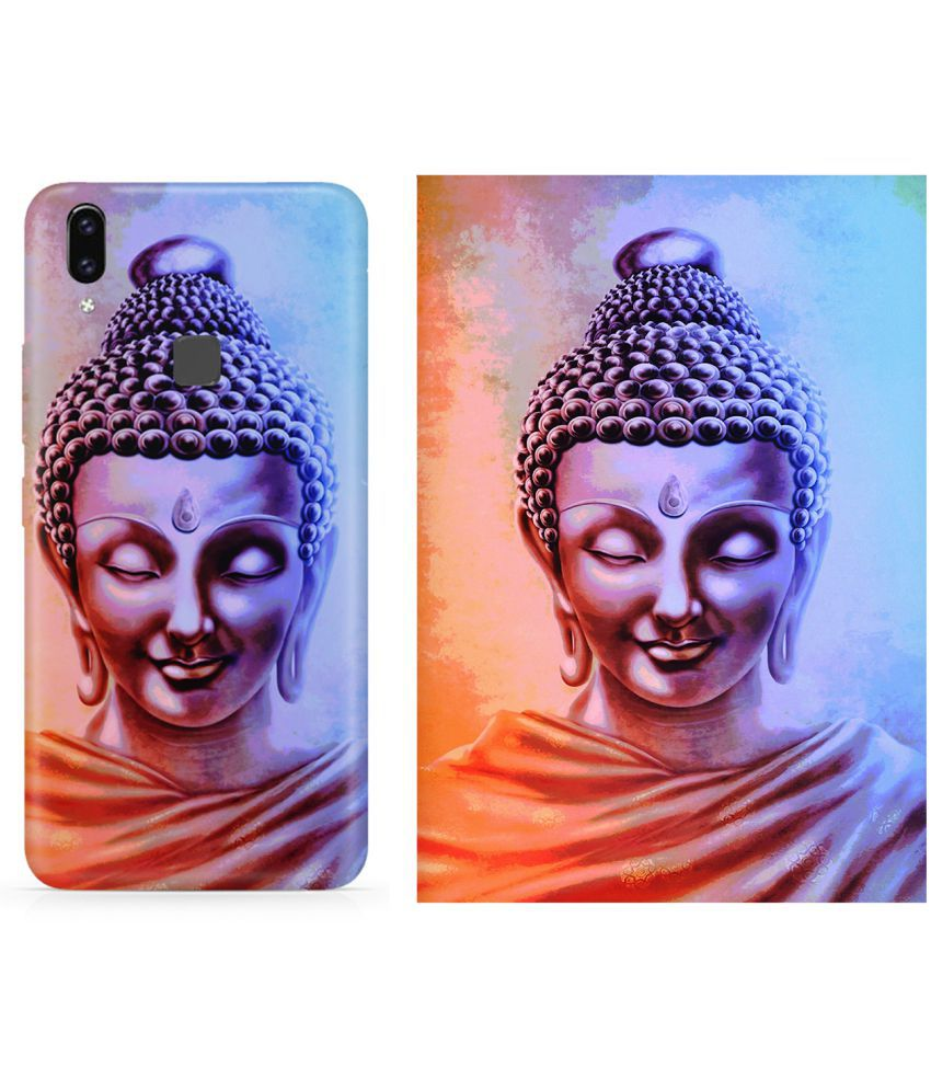 Vivo V9 Cover Combo by Motivatebox Same design printed poster and cover
