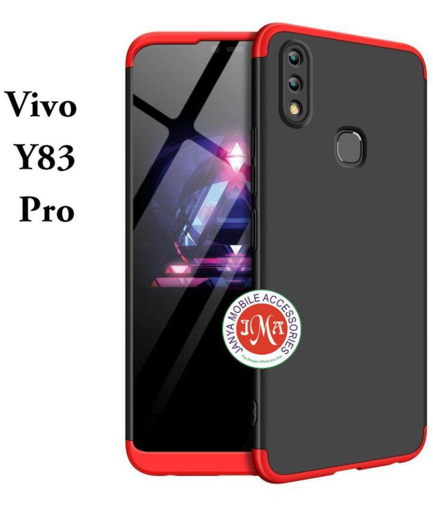 outlet store da93b a130f Vivo Y83 Pro Hybrid Covers JMA - Red Original Gkk 360° Protection Double  Dip Case
