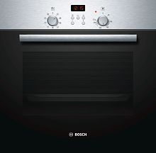 Bosch Above 32 Litres LTR HBN531E4F Built-in Oven Silver black