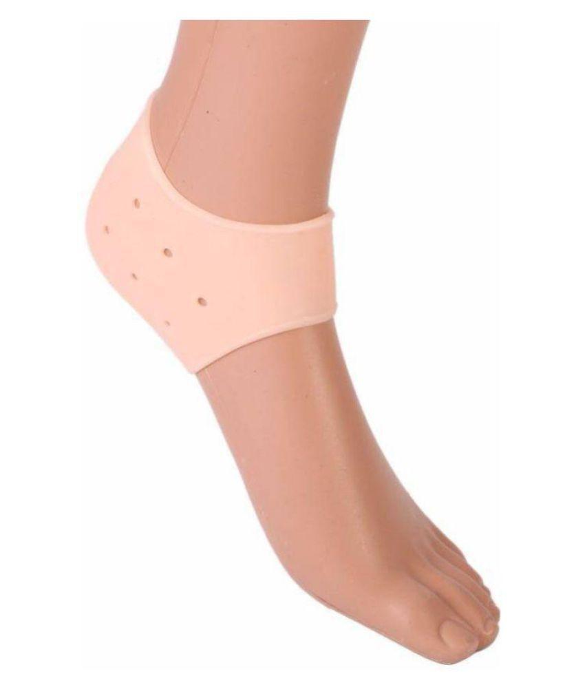 Kozycare Foot Silicone Heel Socks 1 Pair Regular