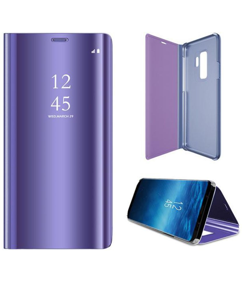 Samsung Galaxy S8 Plus Flip Cover by Lenis   Blue