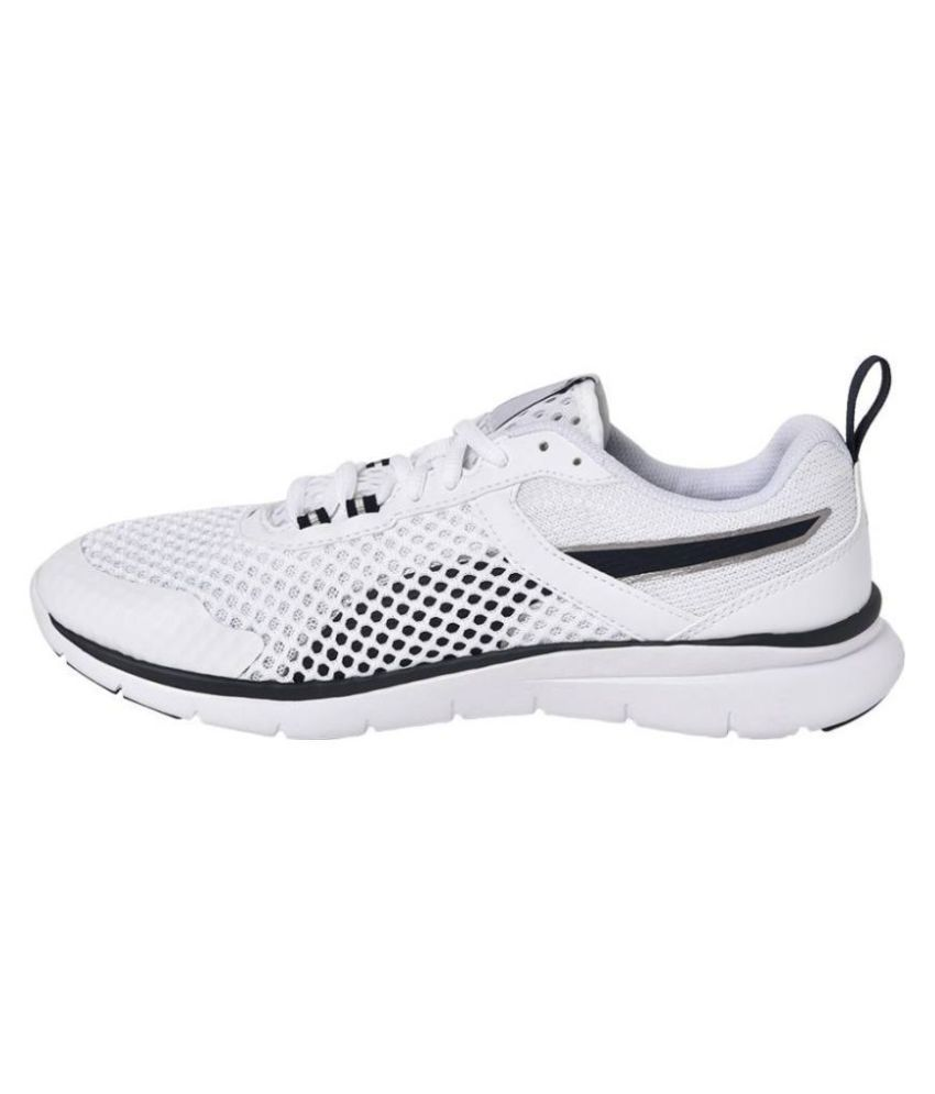 3459cb6287c Puma Flex Essential Pro Running Shoes White  Buy Online at Best Price on  Snapdeal