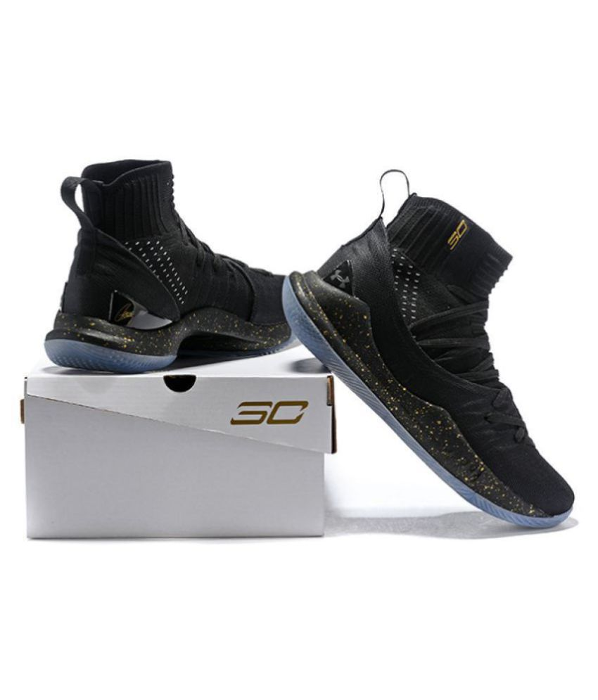 fdc0ef04bd47 Under Armour CURRY Black Basketball Shoes - Buy Under Armour CURRY ...