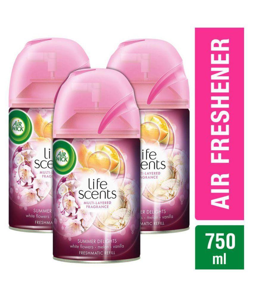 airwick summer delights room freshener spray refill 250 ml pack of rh snapdeal com