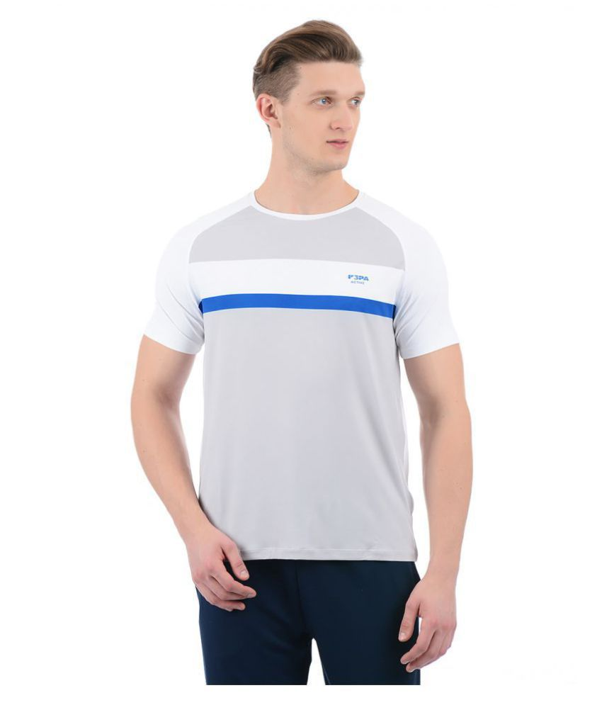 U S Polo Assn White Half Sleeve T Shirt Buy U S Polo Assn
