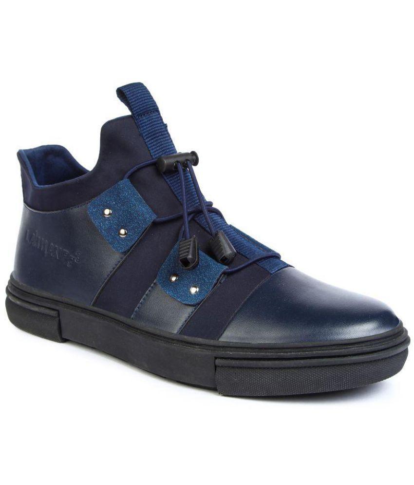 LAWMAN pg3 Blue Boots