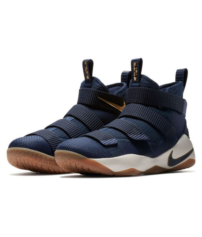 separation shoes b6c3a 24387 Nike Lebron Soldier x11 Navy Basketball Shoes