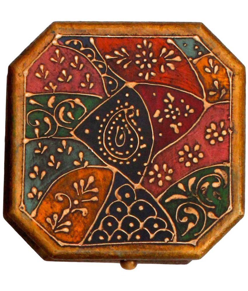 Unique Wooden Jewellry Cosmastic Handicraft Box-3
