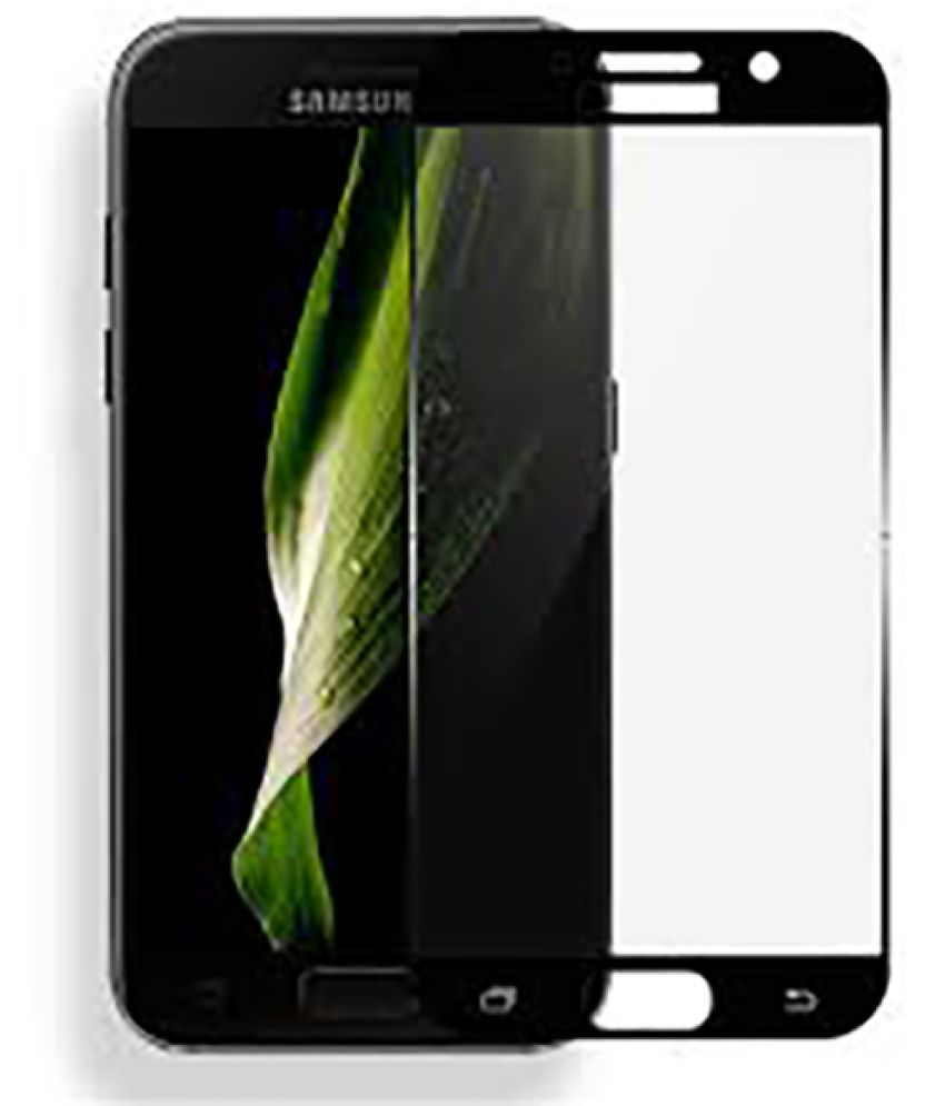 Samsung Galaxy A7 (2017) Mirror Screen Guard By Tempered Glasses Royal Protective Glass, Bubble Free Installation