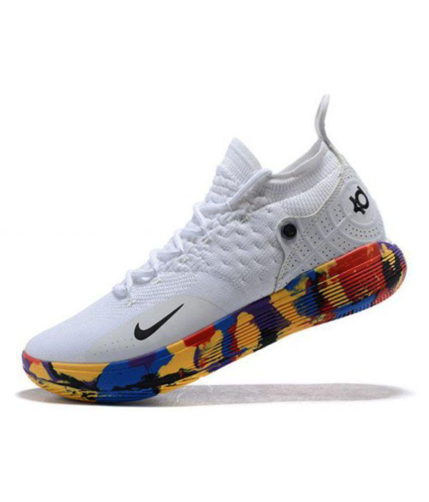 "sports shoes 7882f 782b1 ... Nike Zoom KD 11 ""EP"" LTD 2018 White Basketball Shoes ..."