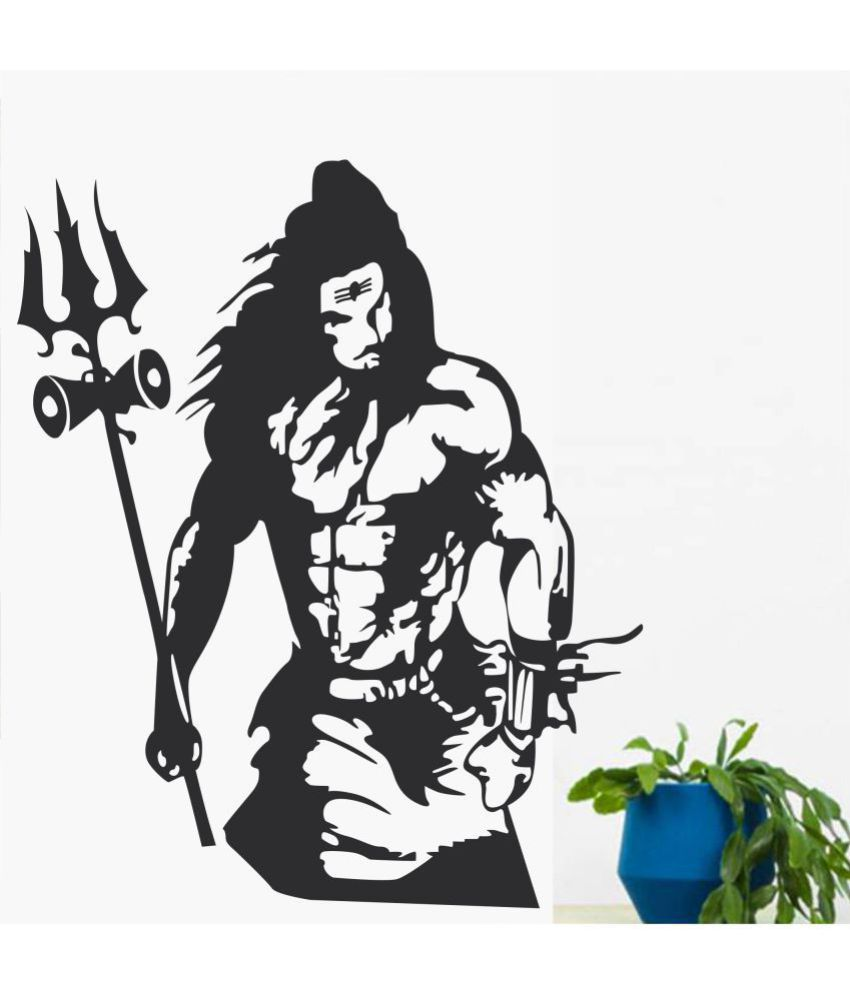 Wall Dreams Lord Shiva Religious & Inspirational Sticker