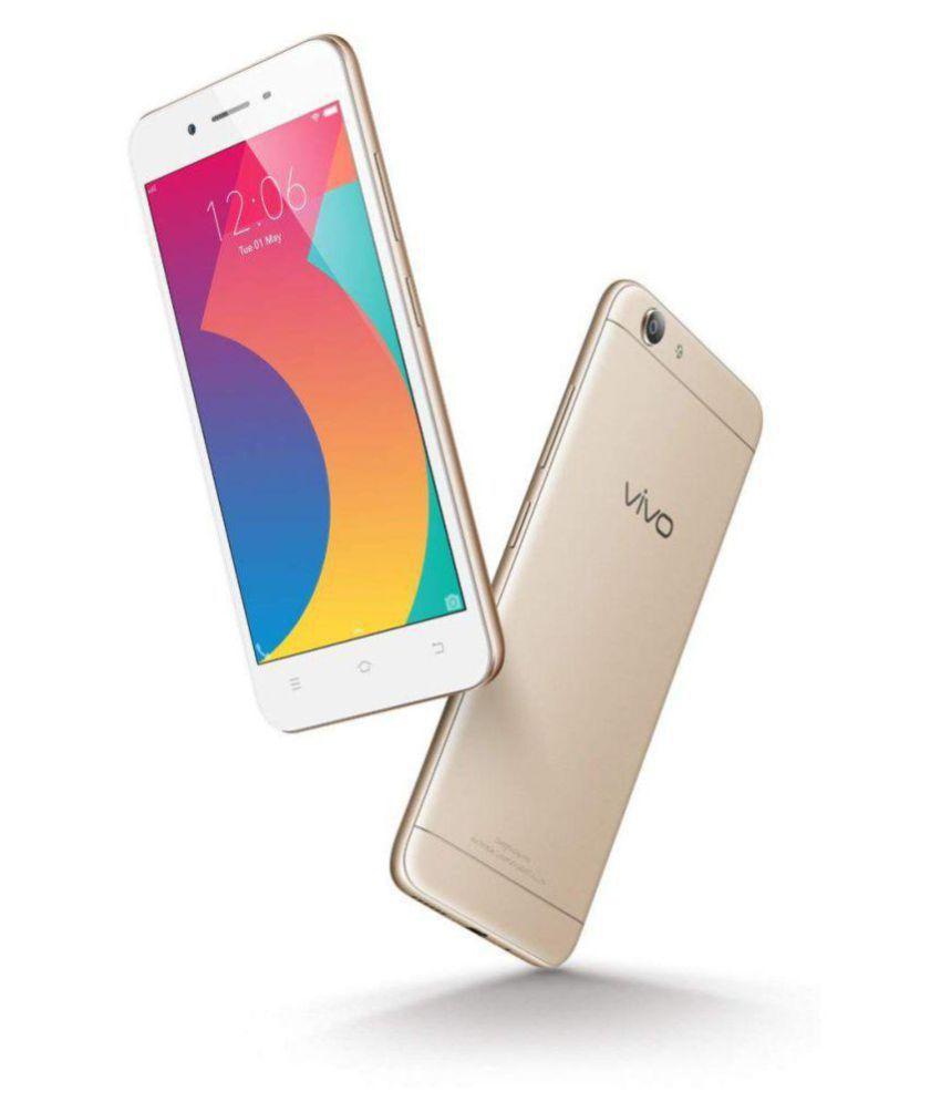 Vivo Y53 1606 ( 16GB , 2 GB ) Gold