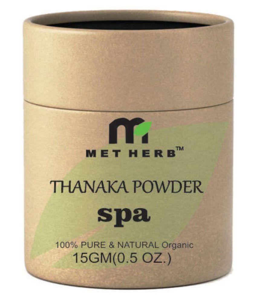 Metherb Facial Kit Thanaka Powder Anti Acne Permanent Hair Removal