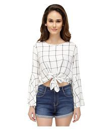 8dc7e0108 White Tops for Women - Buy White Women Tops Online at Low Prices in ...