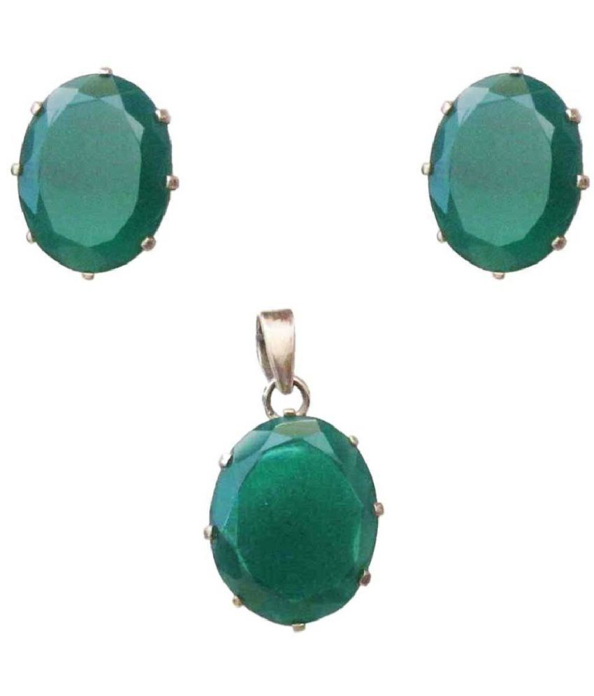 Vinayak 92.5 Silver Necklace Set