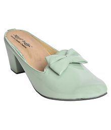 ba100412553 Green Heels  Buy Green Heels for Women Online at Low Prices ...
