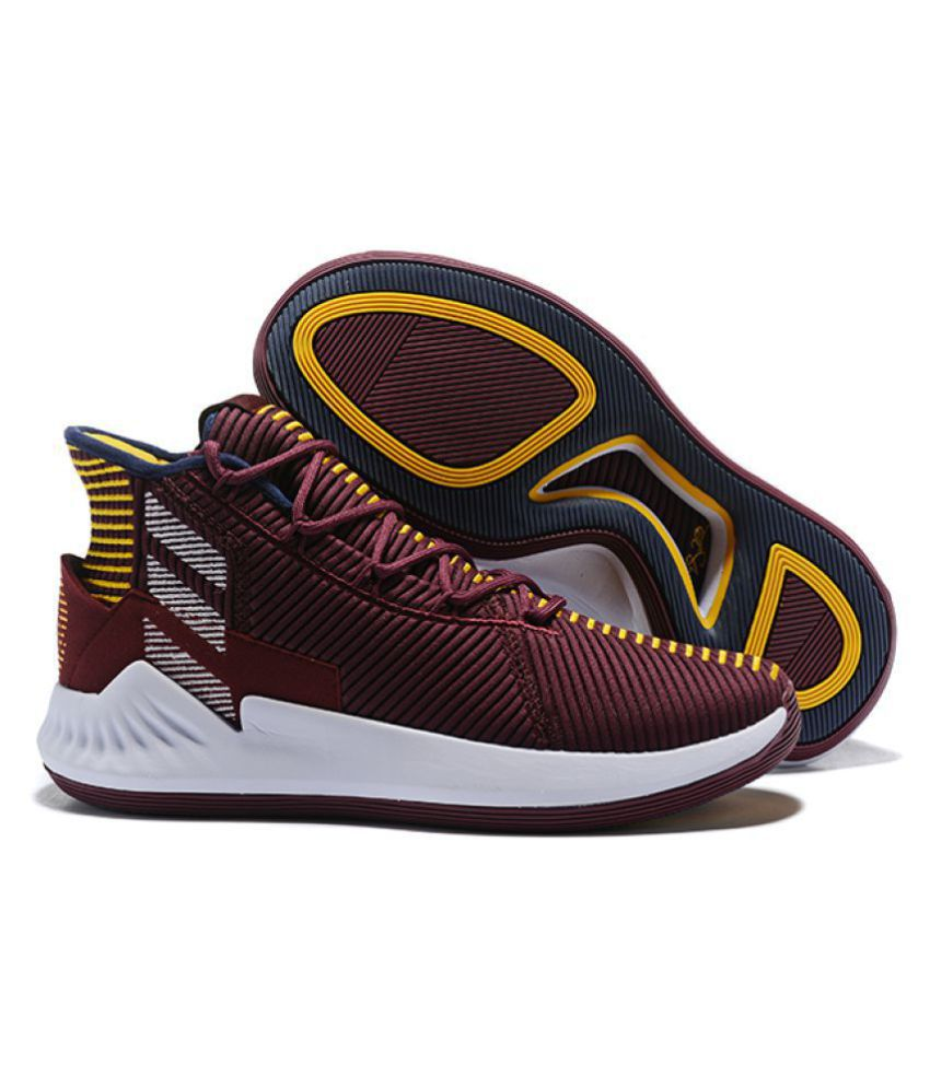 Rose Buy Basketball 2018 Maroon 9 Shoes Ltd Adidas D 8xwqY58Z