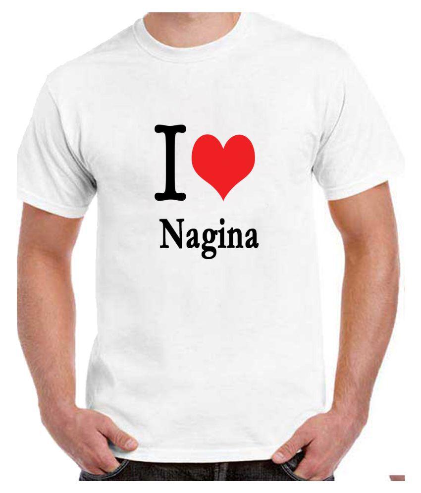 Ritzees Unisex Half Sleeve White Cotton T-Shirt Cotton T-Shirt Nagina City for Men, Women, Kids(White, 34)