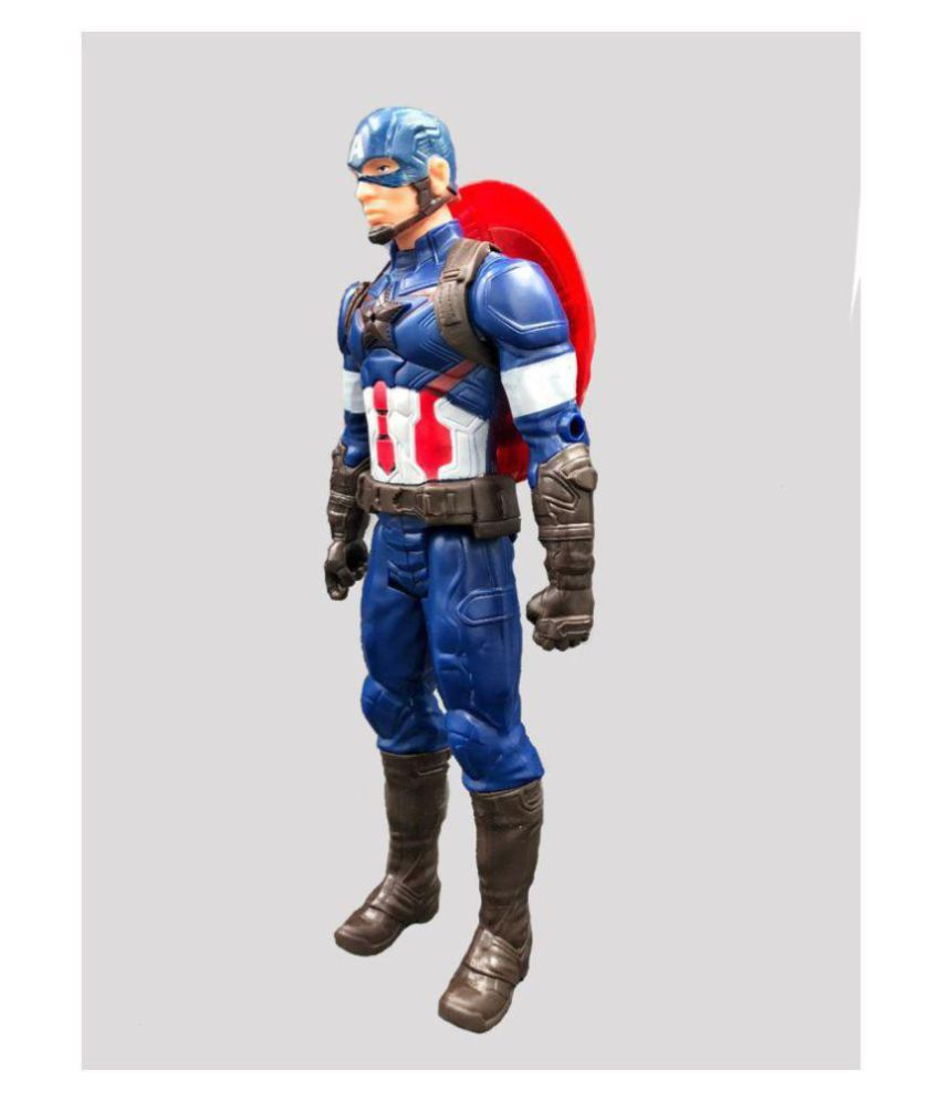 Titan Hero 12″ Action Figure Speech Sound Effect Toy (Captain America)