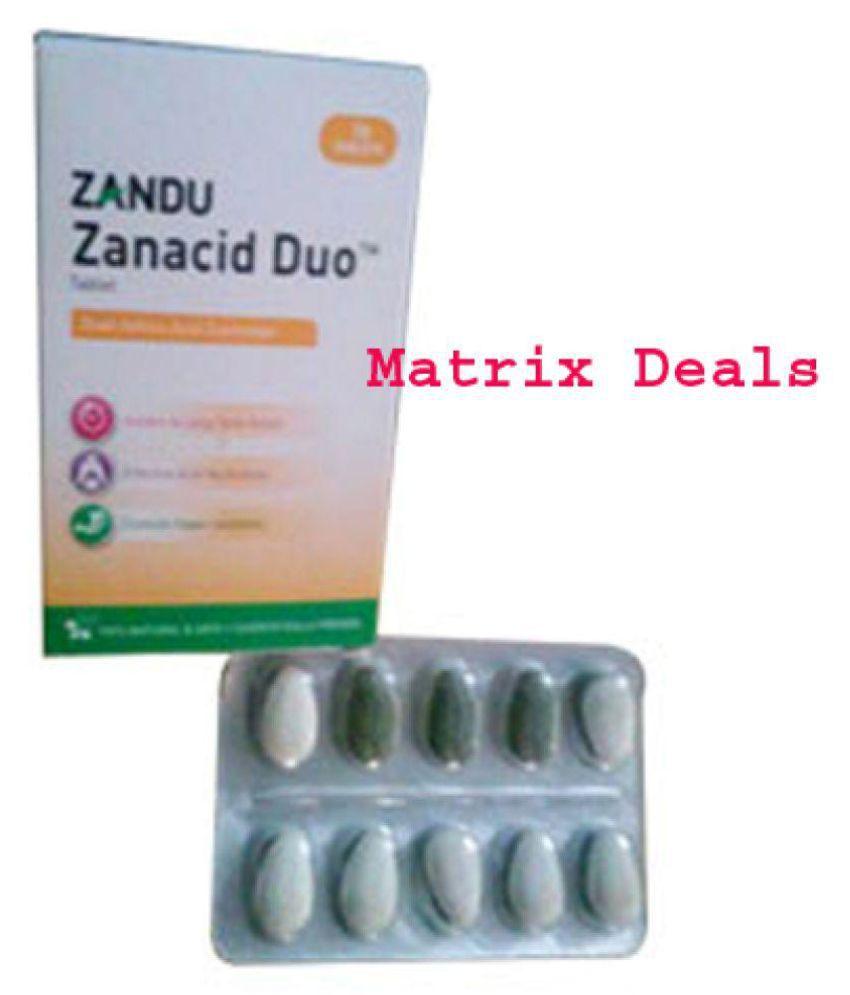 ZANA CID Duo Capsule 100 no.s Pack Of 10
