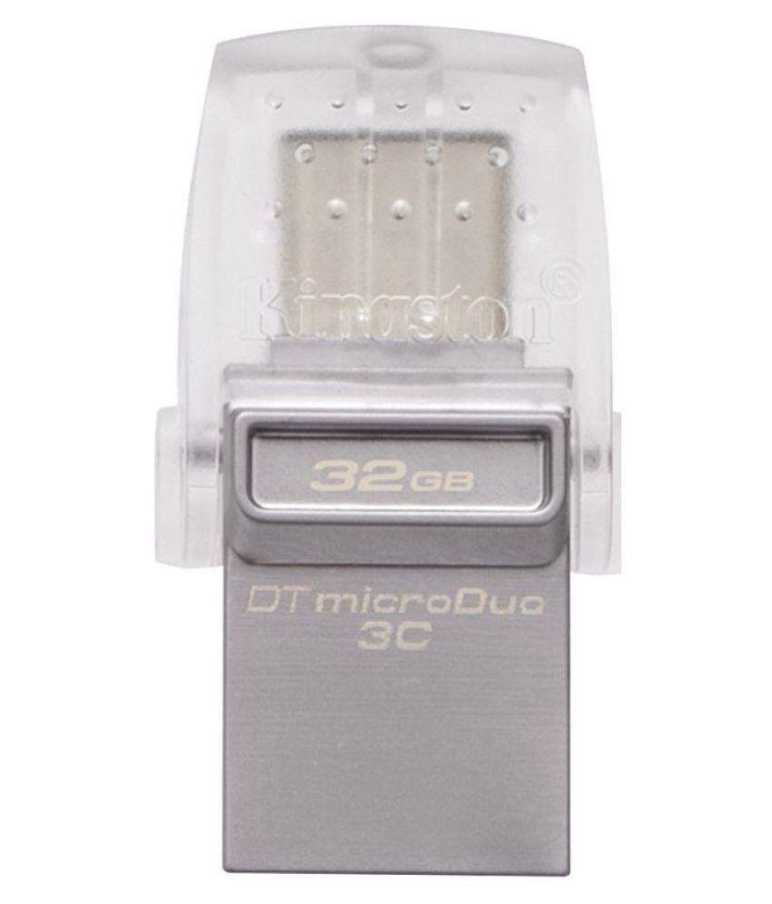 Kingston UO3C 32GB USB 3.1 OTG Pendrive Pack of 1