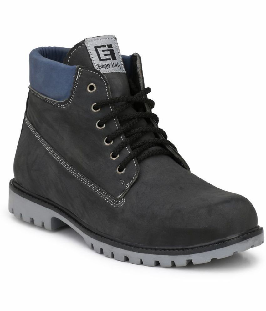 Eego Italy Black Casual Boot