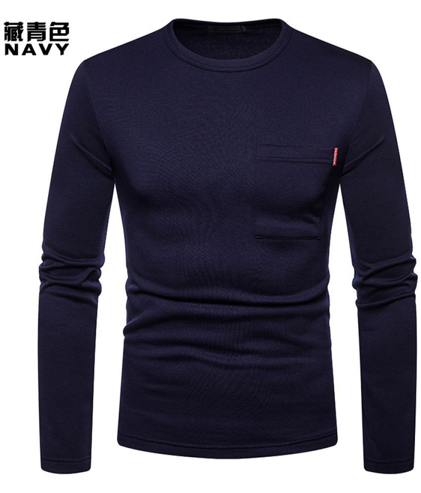 Epiphany navy Full Sleeve T-Shirt Pack of 1