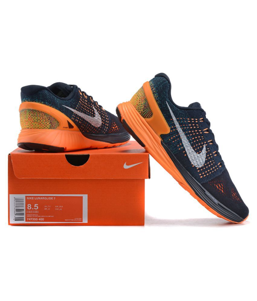 b474f519085 Nike Lunarglide 7 Running Shoes Multi Color  Buy Online at Best Price on  Snapdeal