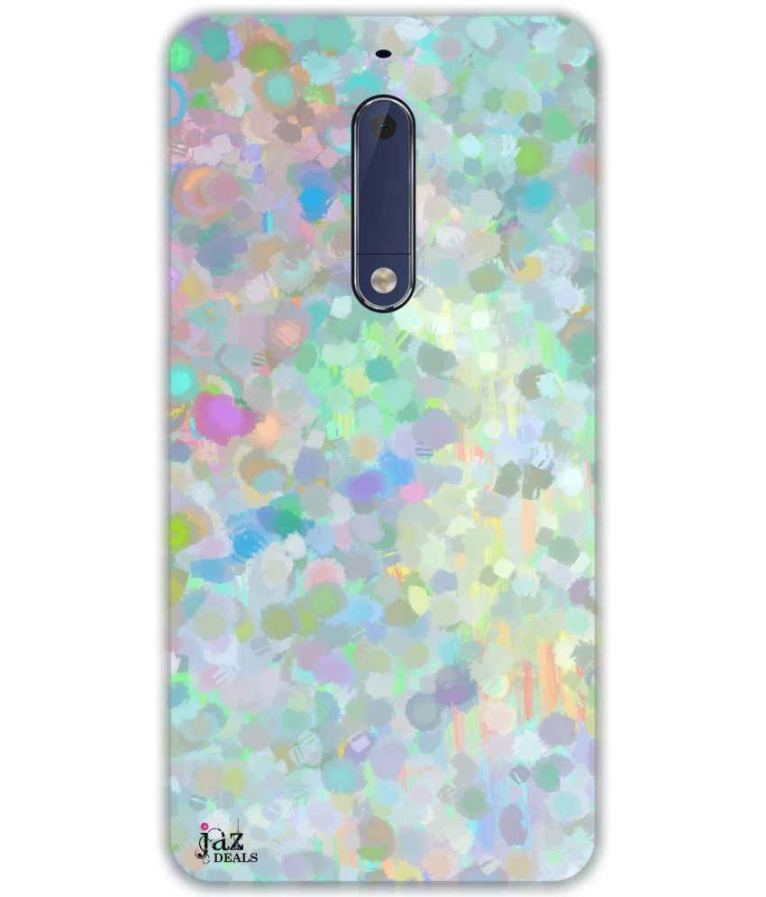 Nokia 5 Printed Cover By Jaz Deals Pointillism Print Hard Cover