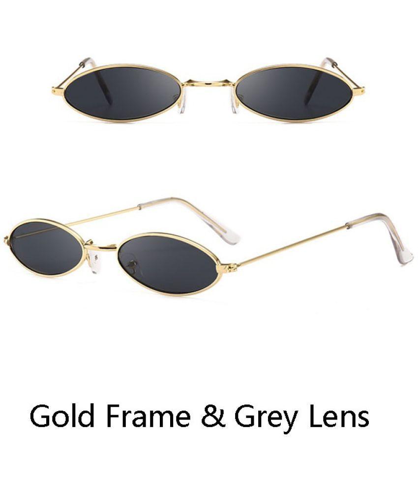 MUMUYOU Grey Oval Sunglasses ( MU809-205 )