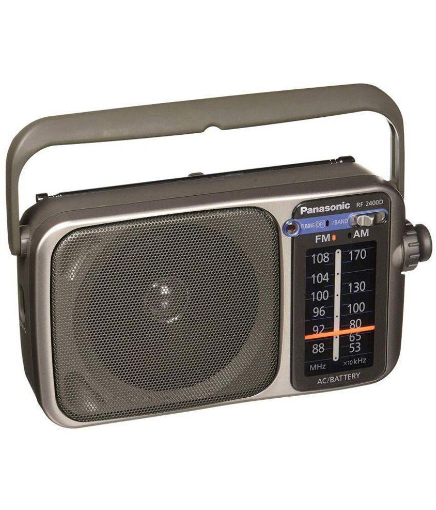 buy panasonic rf 2400 am fm digital fm radio players online at rh snapdeal com