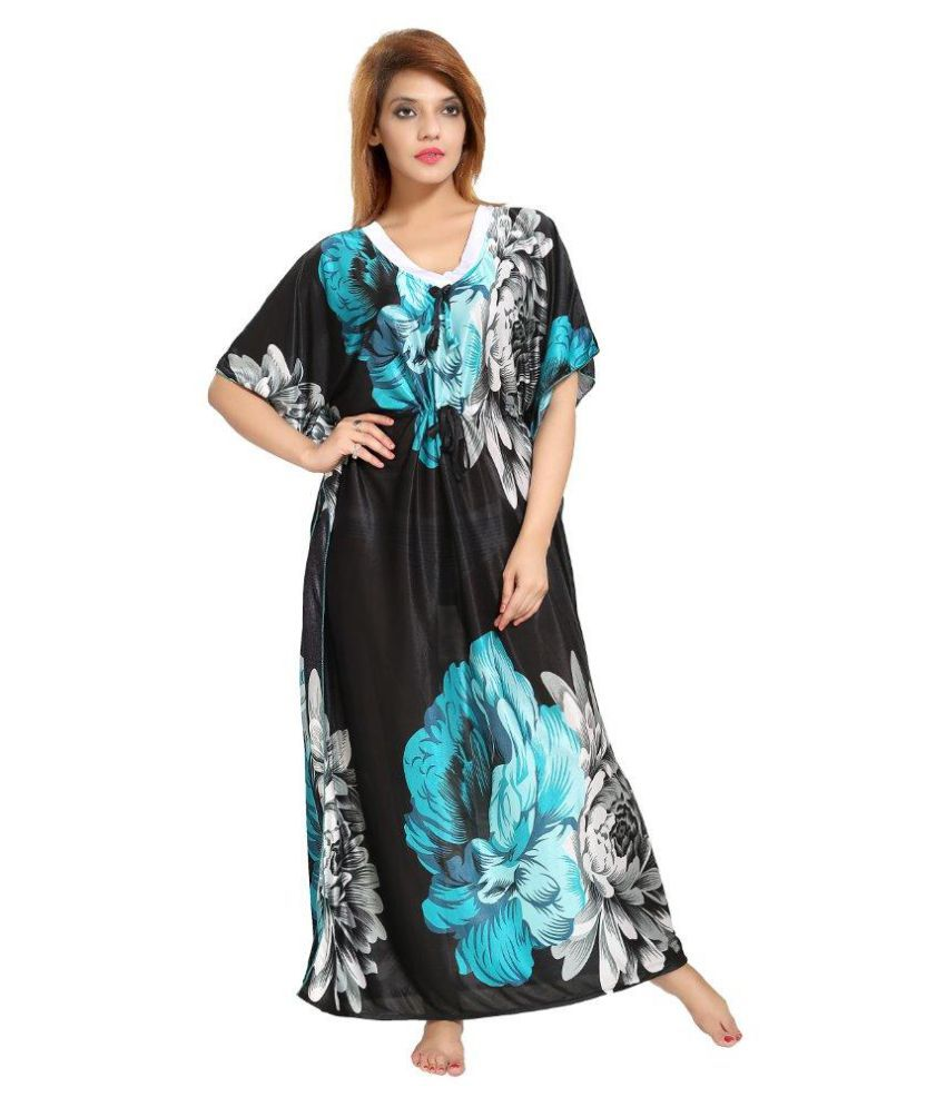 Pingaksh Satin Nighty & Night Gowns - Multi Color