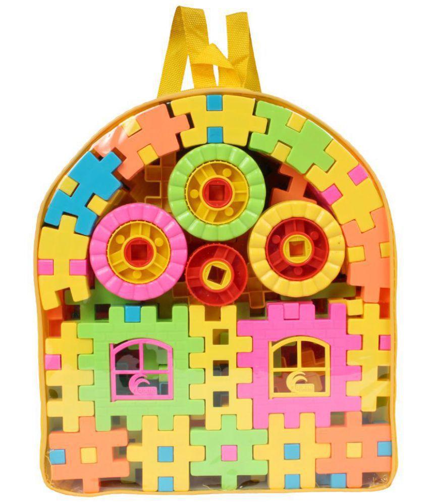 Planet of Toys 118 Pcs Building Blocks For Kids, Children