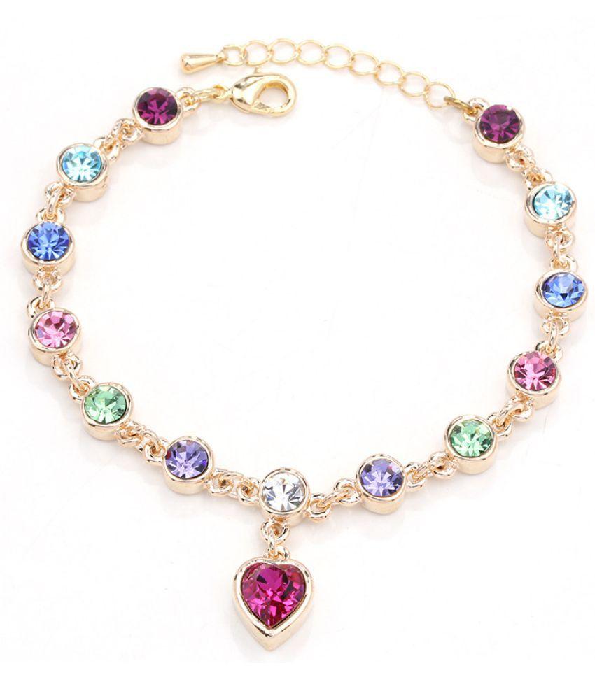 Portable Water Peach Heart Bracelet Jewelry Constellation New Bracelet New Jewelry Floor D Jewelry