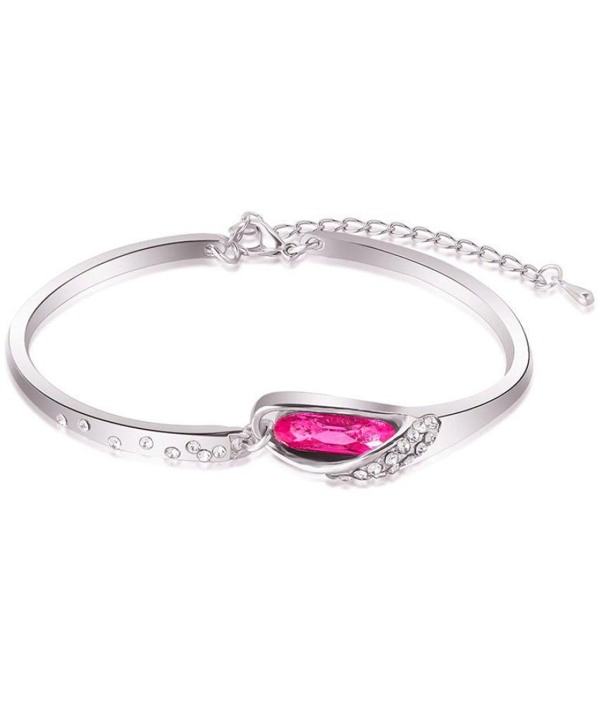Sale! Temperament Bracelet Austri Crystal Bracelet Female Glass Shoe Bracelet-140