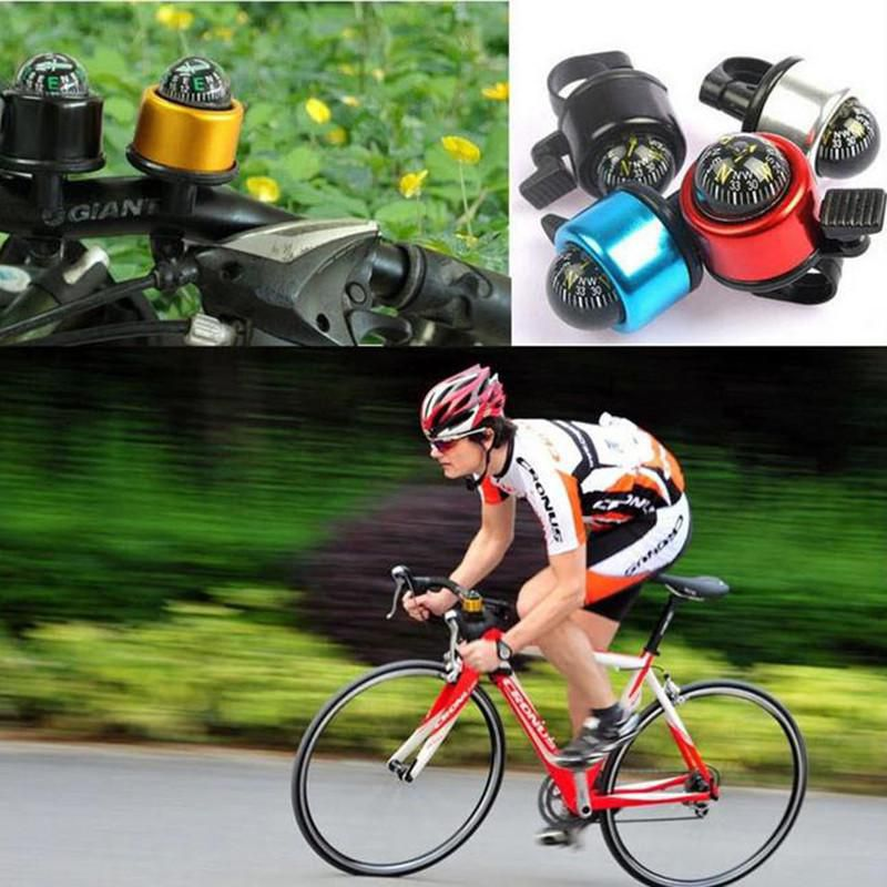 Bicycle Handlebar Compass Single Ping Bell Horn Mountain Road Bike Bell Compass