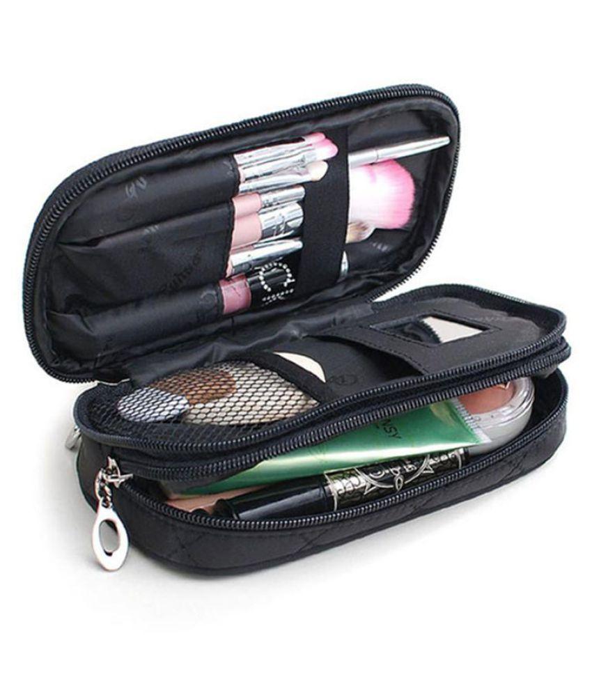 58e822e86ce9 ... Fashion Women's Makeup Bag Travel Wash Toiletries Bag Cosmetics Storage  Pouch ...