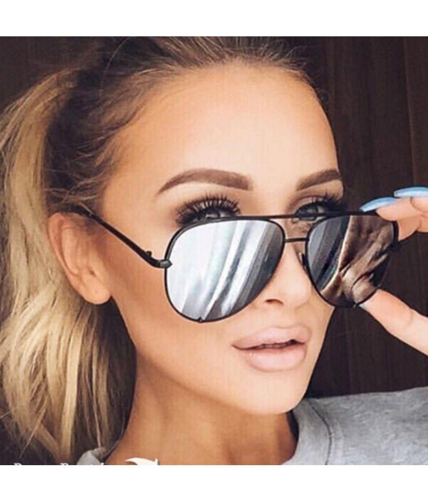 Sharp Angle Multicolor Square Sunglasses ( x )