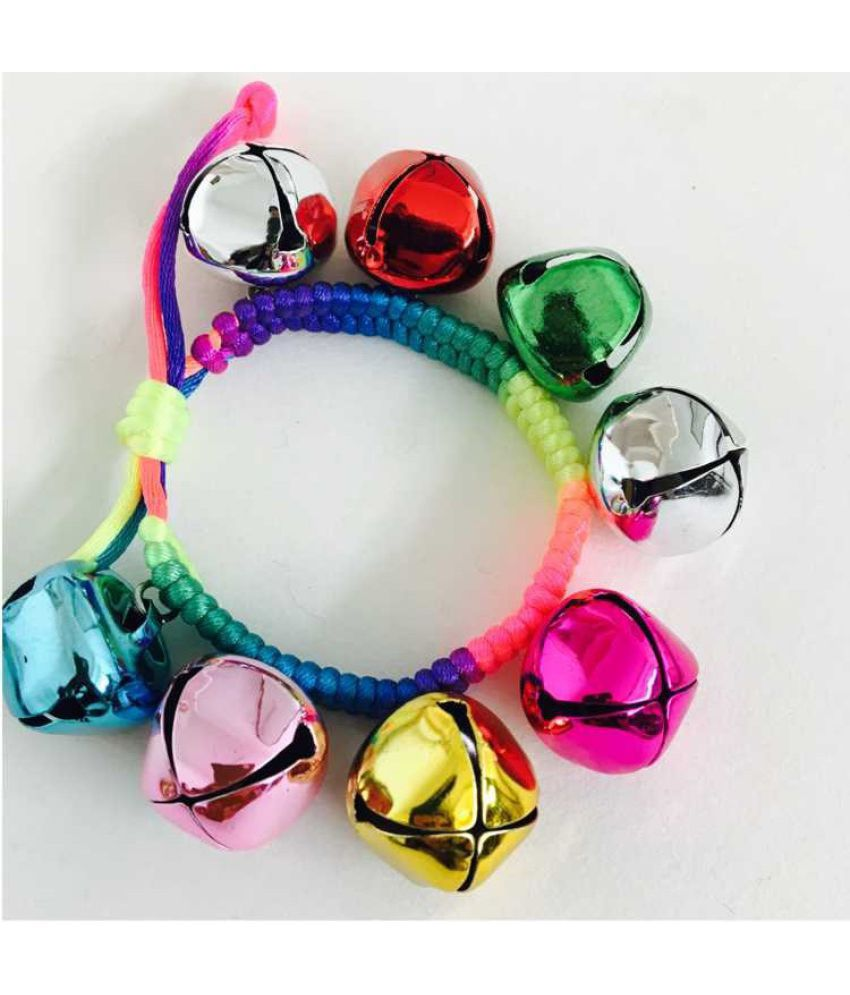 Dancing Opening Bell Bracelets Red Rope Chains Can Be Elastic Children'S Day Students Baby Wrist Bell Bell