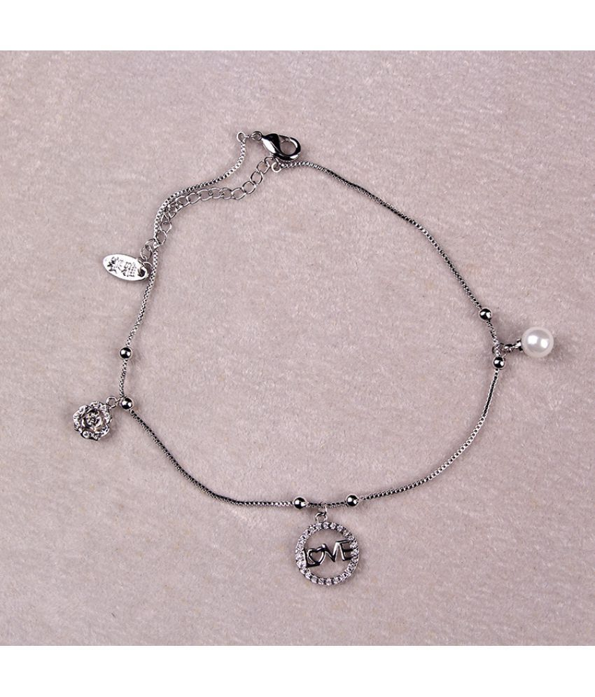 Hot  Fashion Love Lady'S Foot Chain Is Simple Easy Build Small Jewelry Creative Fresh Foot Chain