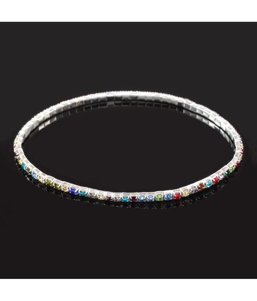 Korea Korea Fashion Austria Crystal Water Drill Foot Ornament Fashion Accessories