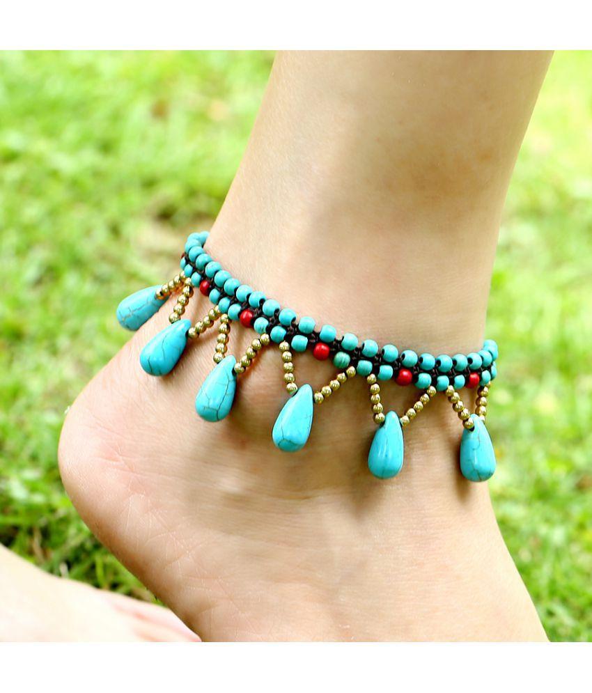 New National Fashion Lady Beach Foot Chain Dmade Jewelry Starfish Foot Ornaments