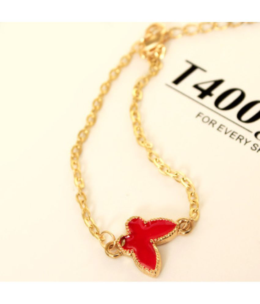 X Country Jewelry Love Clover Simple Bracelet Ankles Version Of Sweet Fashion Hundreds Of Trinkets Women