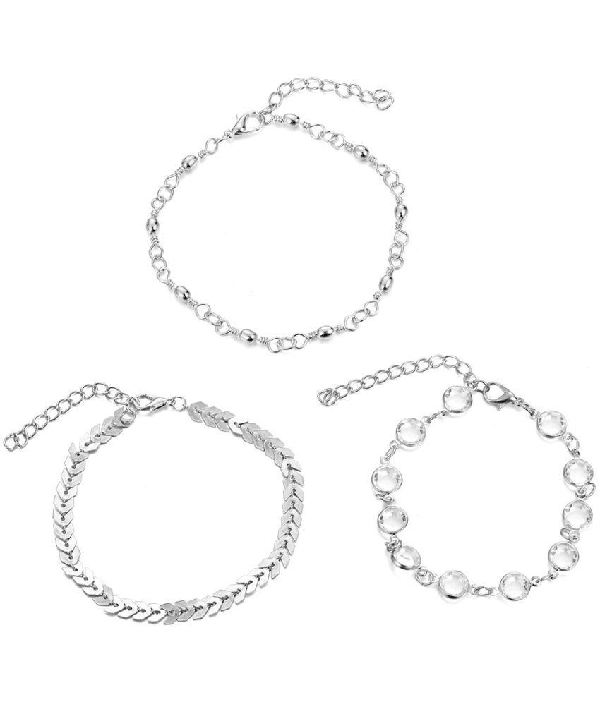 Zhuang Zhou Accessories Speed Hot Drill Three Piece Chain Chain