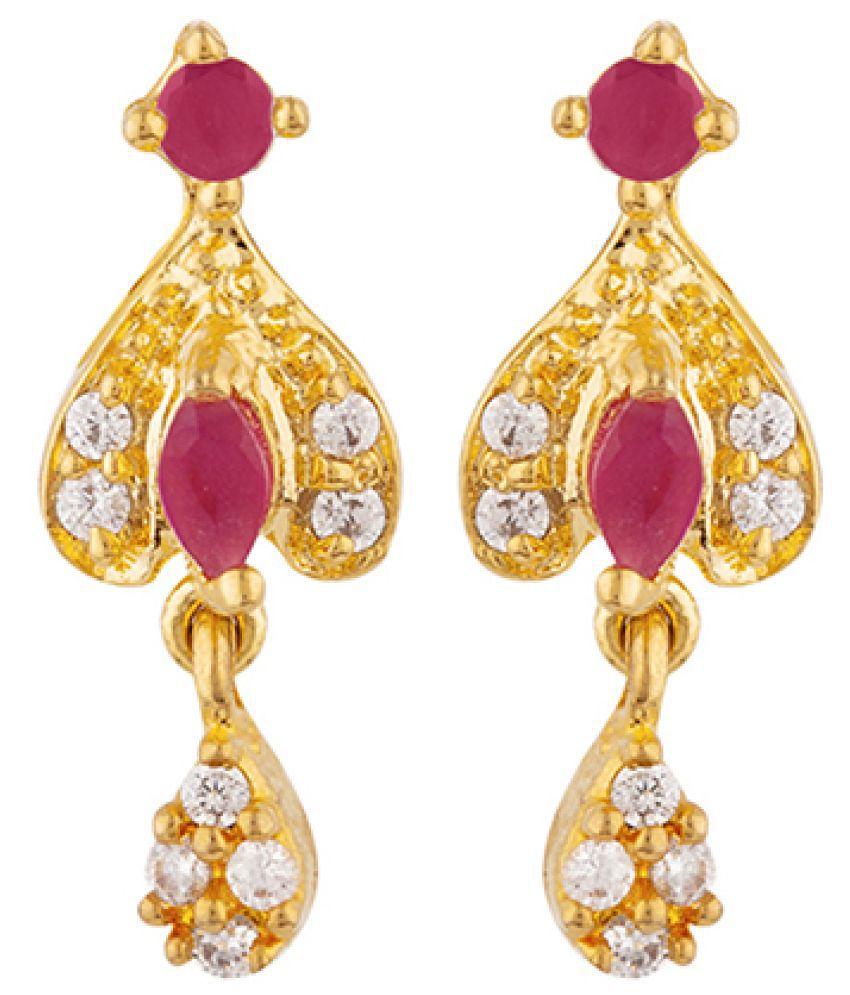 Voylla CZ Tiny Gems Adorned Earrings For Women