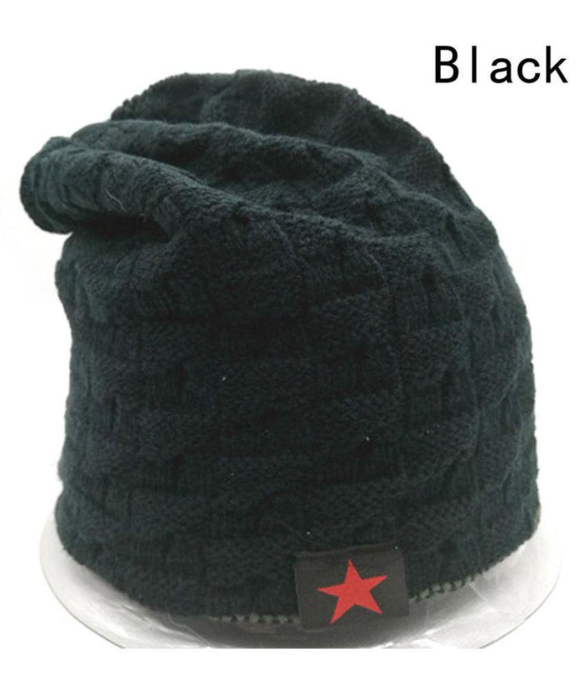 5fd2d981294 ... Women Men Unisex Warm Winter Skull Knitted Hat Baggy Beanie Hip-hop Cap  ...